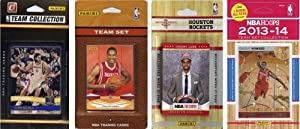 NBA Houston Rockets 4 Different Licensed Trading Card Team Sets by C&I Collectables