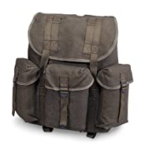 Stansport Cotton G.I. Rucksack, Olive Drab