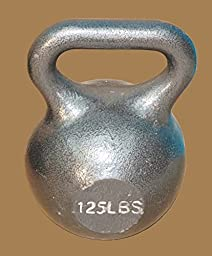 125 Lb. Wide Handle Kettlebell