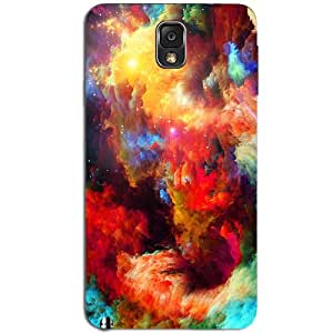 MULTICOLOR SMOKE BACK COVER FOR SAMSUNG GALAXY NOTE 3