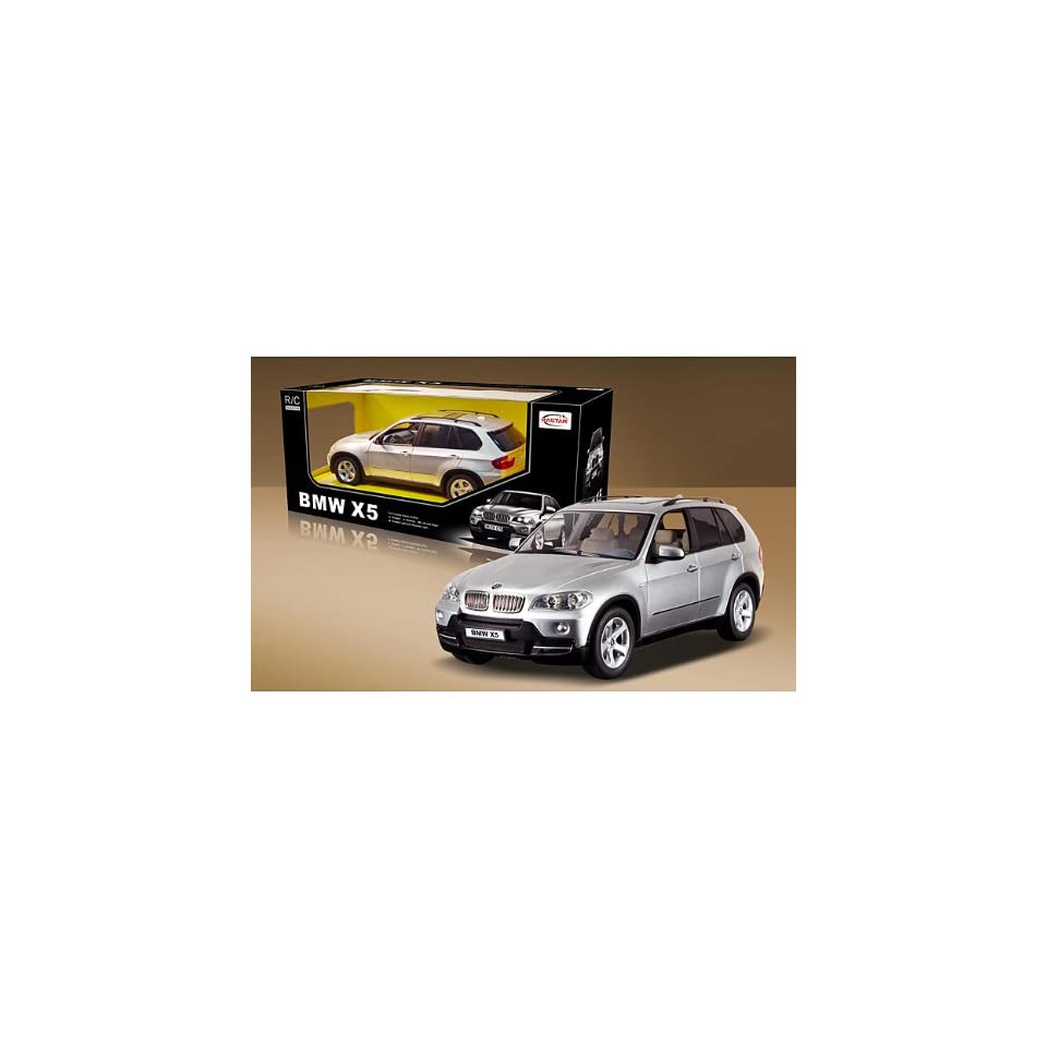 BMW X5 Remote Control Car in Silver Scale1/14 Toys & Games