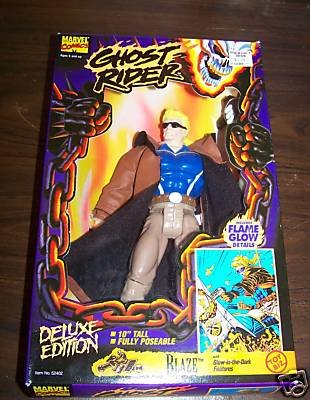 Ghost Rider Blaze Deluxe Edition 10 Inch Figure - 1