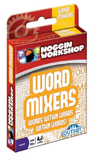 Outset Media Noggin Workshop Word Mixers Puzzle - 1