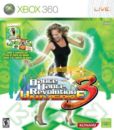 Dance Dance Revolution Universe 3 with Dance Mat