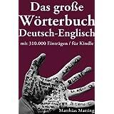 """Das gro�e W�rterbuch Deutsch-Englisch mit 310.000 Eintr�genvon """"Matthias Matting"""""""