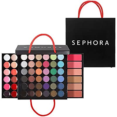 """SEPHORA COLLECTION Medium Shopping Bag Makeup Palette 0.918 oz; 4.5 x 4.5 x 1"""" (closed); 4.5 x 8 x 8"""" (expanded)"""