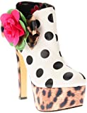 Iron Fist Lolita Love Platform Shoe White