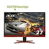 Acer ゲーミング モニター ディスプレイ XG270HUomidpx 27インチ/WQHD解像度/1ms/Free Sync/HDMI2.0端子付
