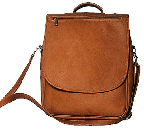 david-king-co-vertical-expandable-portfolio-backpack-tan-one-size