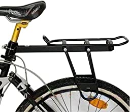 Aluminum Alloy Rear Shelf Rack Bike Rack Loading Frame Pack