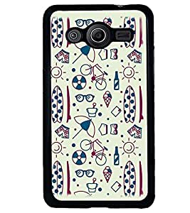 PRINTVISA Quotes Apple Case Cover for Samsung Galaxy Core 2