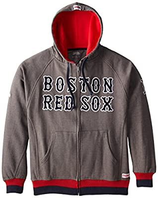 MLB Men's Full Zip Hooded Jacket
