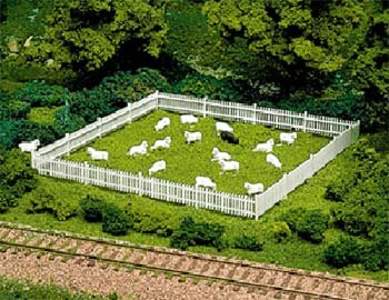ATLAS MODEL 776 Picket Fence & Gate Kit HO