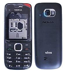 Nokia C2-01 Replacement Body Housing Front & Back Original Panel - Grey