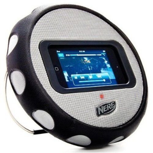 Ihome N908S Multimedia Wheel Speaker For Iphone, Ipod Touch, Nano & Mp3 Players