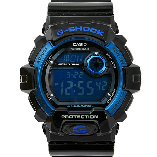 G-SHOCK X-LARGE 8900 G-8900A-1 MENS Sports Water Proof Watches BLACK