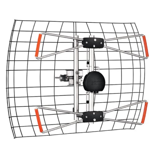 clearstream 2v indoor  outdoor hdtv antenna with mount