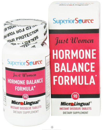 Superior Source - Just Women Hormone Balance Formula Instant Dissolve - 90 Tablets