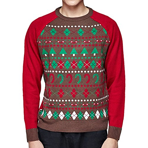 Blueberry Pet Ugly Christmas Holiday Sweater for Men or Women