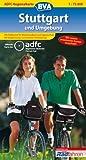 ADFC-Regionalkarte Stuttgart und Umgebung 1 : 75 000. Bielefelder Radkarten (3870731974) by N