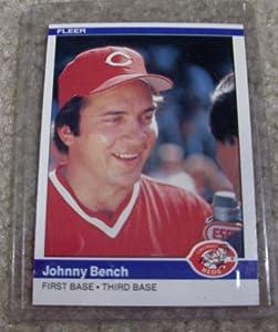1984 Fleer Johnny Bench 462 Mlb Baseball