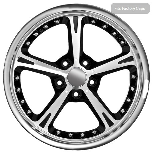 51pBzFWnoJL 18 Inch BMW Wheels Rims Black (set of 4)