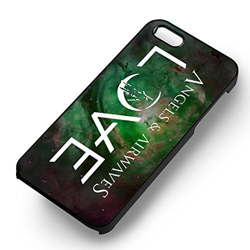 Angel & Airwaves Love for Cover Iphone 6 and Cover Iphone 6s Case (Black Hardplastic Case) L6R8EN