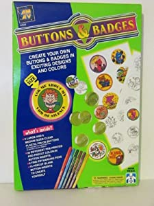 AMAV Make Your Own Buttons and Badges Kit