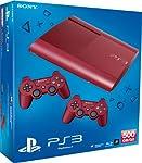 PlayStation 3 - Konsole Super Slim 500 GB rot (inkl. 2 DualShock 3 Wireless Controller rot)