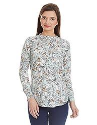 NUN Women's Tunic Shirt (NUNTU5278_Mint_M)