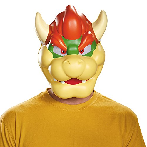 Disguise Men's Bowser Costume Mask - Adult