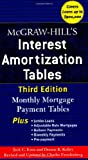 img - for McGraw-Hill's Interest Amortization Tables, Third Edition book / textbook / text book