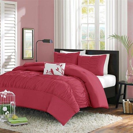 Mizone Mirimar Comforter Set - Pink - Full/Queen front-660253