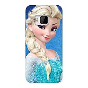 Enticing Winked Princess Freez Multicolor Back Case Cover for HTC One M9