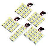 【断トツ240発!!】 L375/385S タントカスタム LED ルームランプ 5点セット [H19.12~H25.10] ダイハツ 基板タイプ 圧倒的な発光数 3chip SMD LED 仕様 室内灯 カー用品 HJO