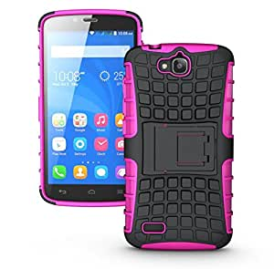 TrilMil Super Grip Armor Stand Case For Huawei Honor Holly