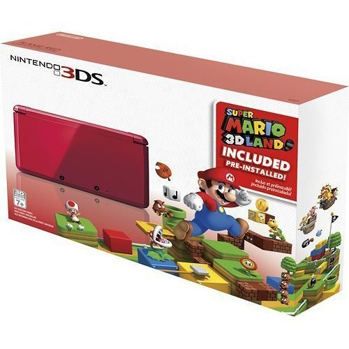 Nintendo 3DS Holiday Bundle - Flame Red  Super
