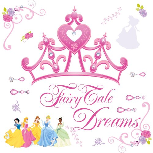 Roommates Rmk1580Gm Disney Princess Crown Peel & Stick Giant Wall Decal front-1054860