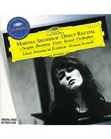 Martha Argerich - Début Récital