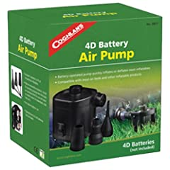 Buy Coghlan's 0817 Battery Powered Air Pump by Coghlan's