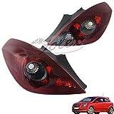 R�cklicht R�ckleuchte Hecklicht Heckleuchte Rauchglas get�nt rechts+links Set Satz Paar Opel Corsa D 3-t�rer OPC 06- NEU