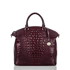 Large Duxbury Satchel<br>Black Cherry Melbourne