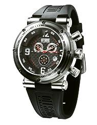 Offshore Men's OFF002XLH Challenge XL Black Dial Chronograph Rubber Watch