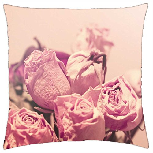 Withered Roses - Throw Pillow Cover Case (18