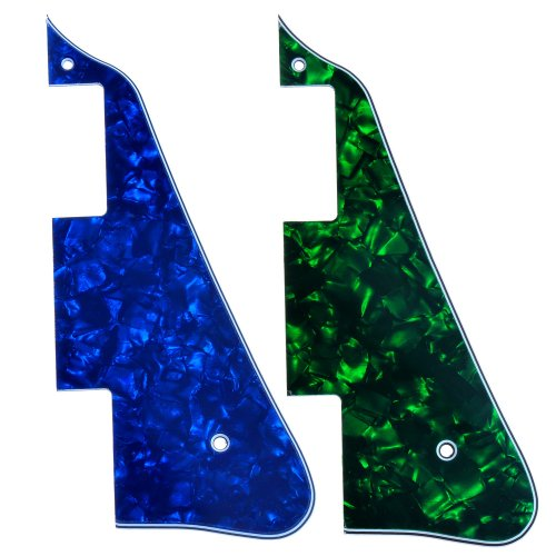 New Green& Blue Pearl Electric Guitar Pickguard For Gibson Les Paul Guitar Replacement
