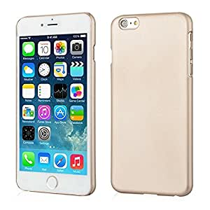 Mercator Rubberized Back Cover for Apple iPhone 6 (Gold)
