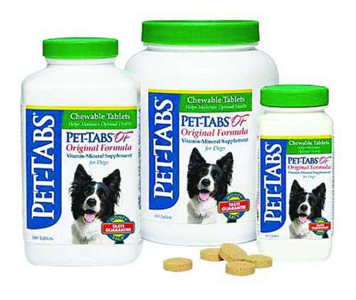 Pet-Tabs 8158 Original Formula Vitamin Mineral Supplement 365 Count