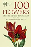 img - for 100 Flowers, One Hundred Postcards: From the Royal Horticultural Society book / textbook / text book