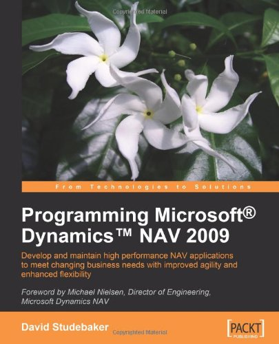 Programming Microsoft Dynamics NAV 2009, Buch
