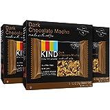 KIND Healthy Grains Granola Bars, Dark Chocolate Mocha, 1.2oz bars, 15 Count